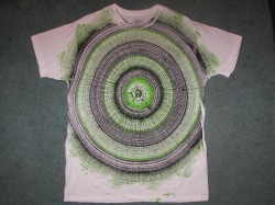 striperfusion spin art t-shirt